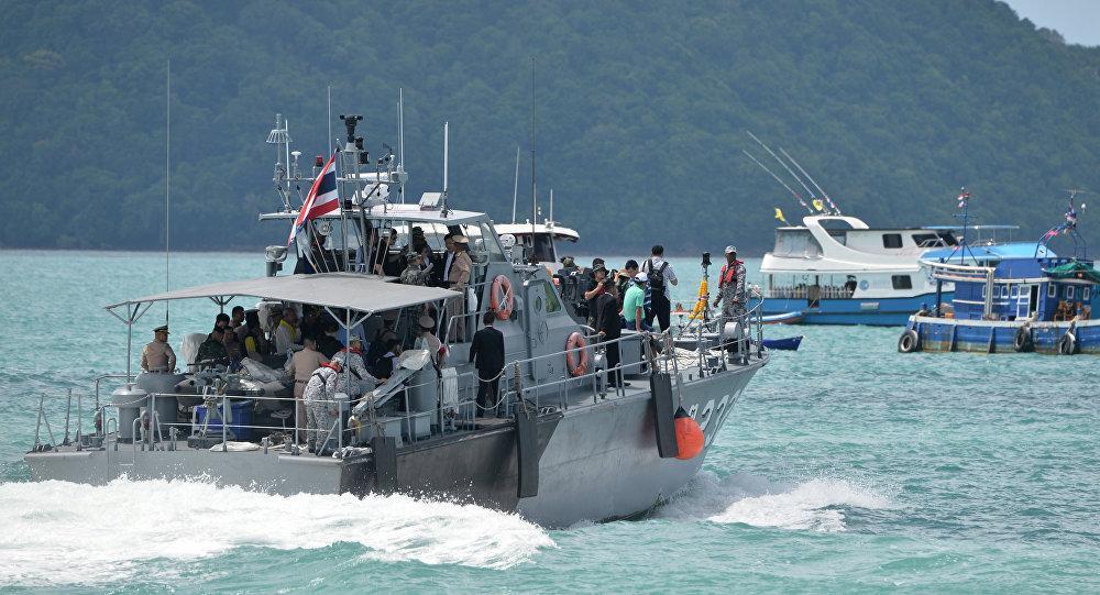 حادثه ای مرگبار برای قایقی در نزدیکی پوکت