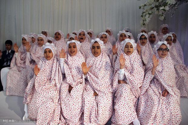 جشن تکلیف 300 دختر مددجوی کرمانشاهی برگزار گردید