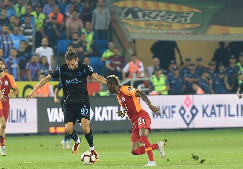 سوپر لیگ ترکیه ، پیروزی بزرگ ترابزون اسپور برابر گالاتاسرای صدرنشین + تصاویر