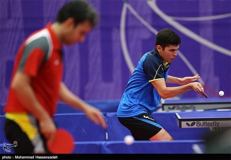 تنیس روی میز قهرمانی دنیا، حذف زودهنگام تیم دو نفره ایران