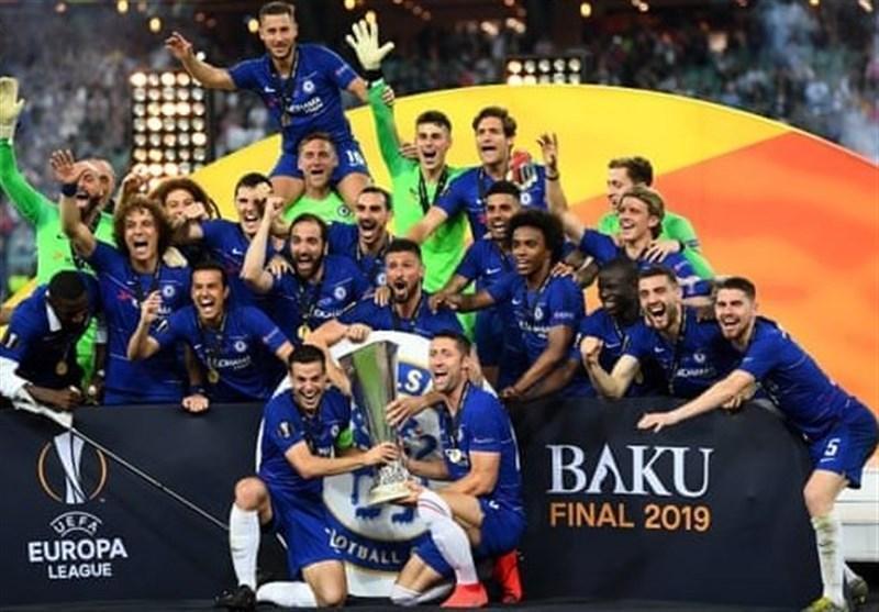 لیگ اروپا، قهرمانی چلسی در شب خداحافظی چک از دریچه تصاویر