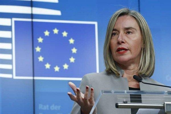 موگرینی: اتحادیه اروپا در صدد تحریم مقامات امنیتی ونزوئلا است