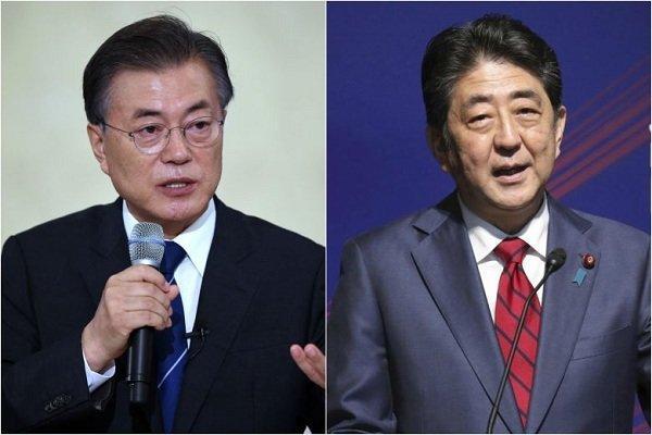 دیدار احتمالی سران ژاپن و کره جنوبی در ماه سپتامبر