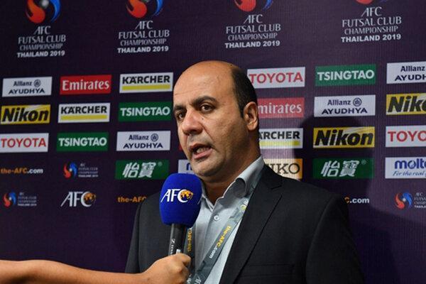 ادعای عجیب سرمربی تیم فوتسال مس بعد از باخت در فینال آسیا