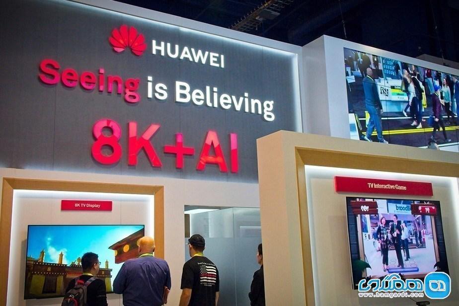 هوآوی برای اولین بار از سیستم عامل اختصاصی خود در تلویزیون هوشمند 5G استفاده کرد