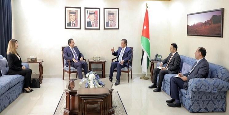 دیدار کاردار جدید سوریه با رئیس مجلس اردن