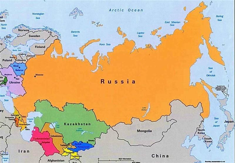 موقعیت منحصربه فرد جغرافیایی و آب وهوایی روسیه