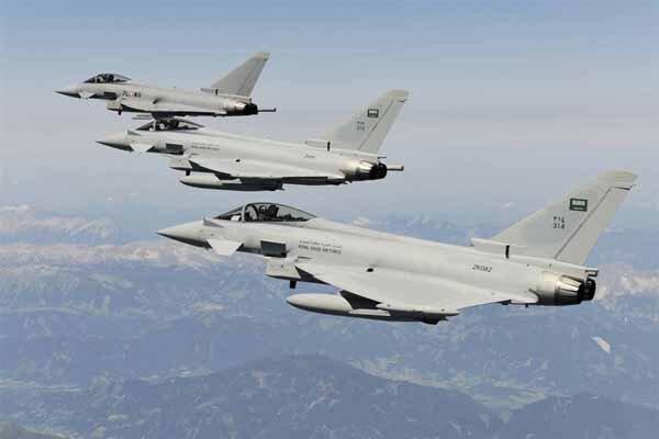 حملات گسترده جنگنده های متجاوز سعودی به صعده یمن