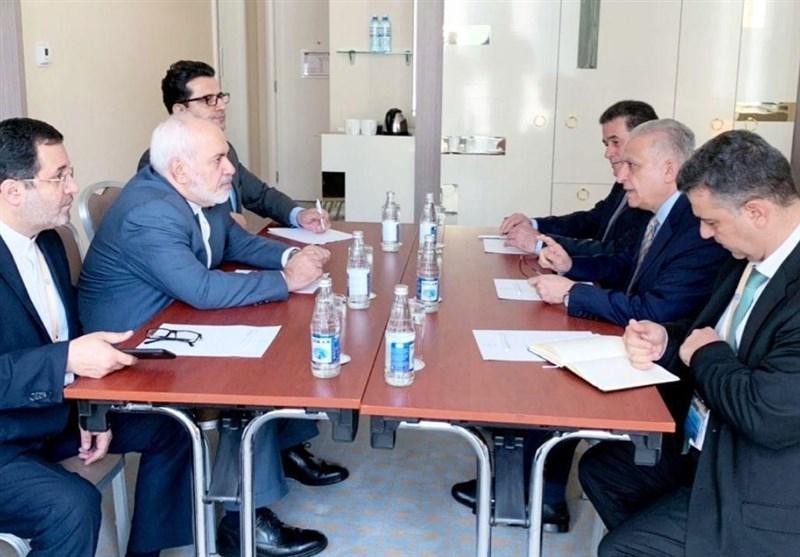 دیدار ظریف با وزرای خارجه عراق و صربستان در باکو