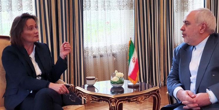 دیدار قائم مقام وزیر خارجه سوئیس با ظریف