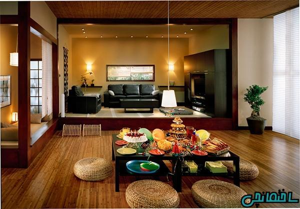 ایده های طراحی داخلی به سبک ژاپنی