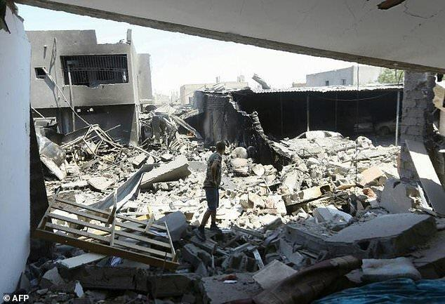 ضد حمله نیروهای دولت وفاق ملی لیبی علیه نیروهای حفتر در جنوب طرابلس