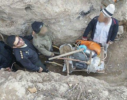 دستگیری دو حفار غیرمجاز آثار باستانی در گچساران