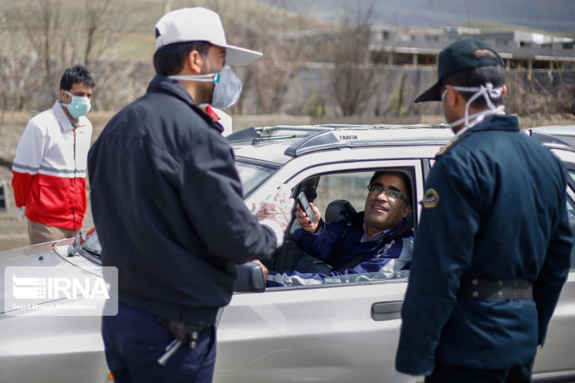خبرنگاران کنترل ورودی شهرها با حساسیت بالا توسط پلیس راهور