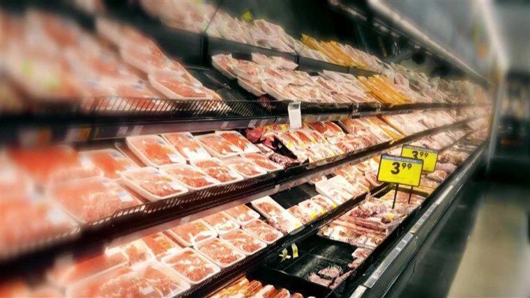 جیزه بندی گوشت در آمریکا