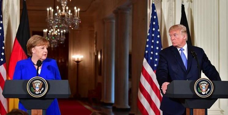 گفت وگوی تلفنی ترامپ و مرکل