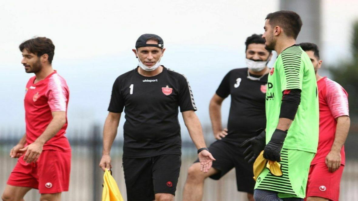 برنامه تمرینی گل محمدی برای حضور در لیگ قهرمانان آسیا