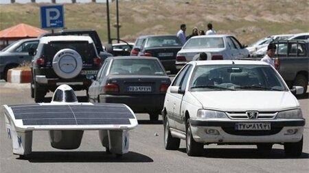 تولید خودروی هوشمند خورشیدی در کشور