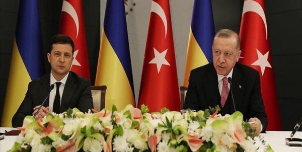 زلنسکی:برای حل بحران فعلی اوکراین، با ترکیه هم عقیده ایم