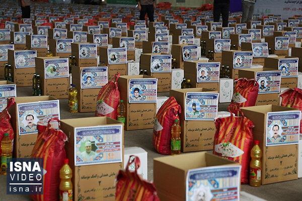 توزیع 1.5 میلیون بسته افطاری در لبیک به توصیه رهبری ، پخش 400 تن برنج ایرانی برای پخت غذای گرم